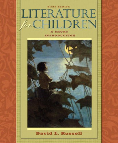 Literature for Children A Short Introduction 6th 2009 edition cover