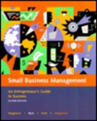 Small Business Management An Entrepreneur's Guide to Success 2nd 1997 9780256218930 Front Cover