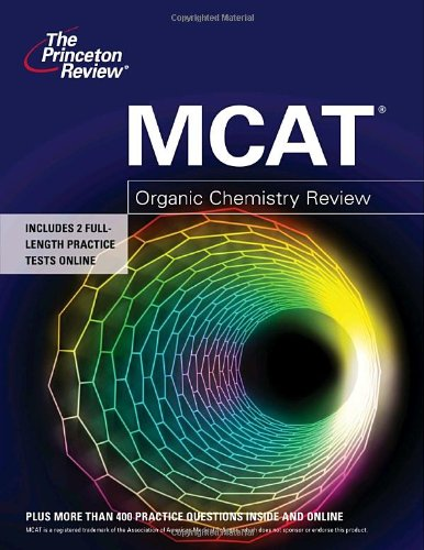 MCAT Organic Chemistry Review  N/A 9780375427930 Front Cover
