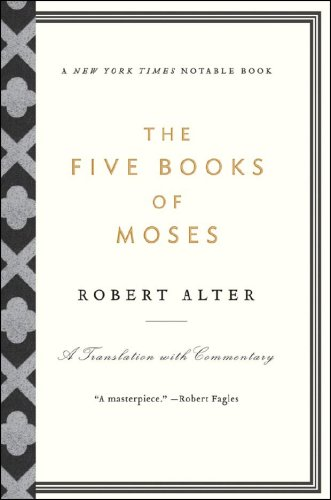 Five Books of Moses A Translation with Commentary  2008 edition cover