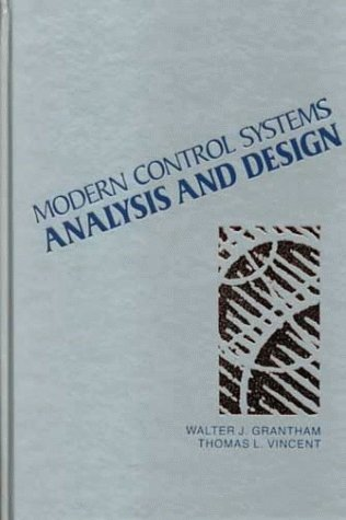Modern Control Systems Analysis and Design   1992 edition cover