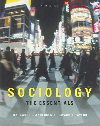 Sociology Understanding a Diverse Society 5th 2009 (Revised) edition cover