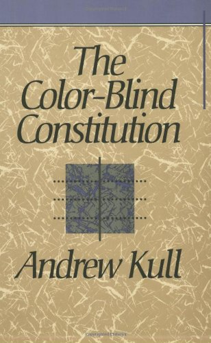 Color-Blind Constitution   1993 edition cover