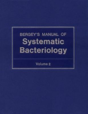 Bergey's Manual of Systematic Bacteriology  1986 9780683078930 Front Cover