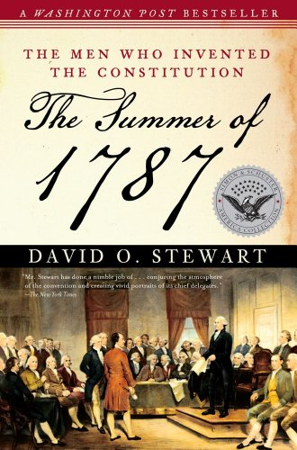 Summer Of 1787 The Men Who Invented the Constitution N/A edition cover