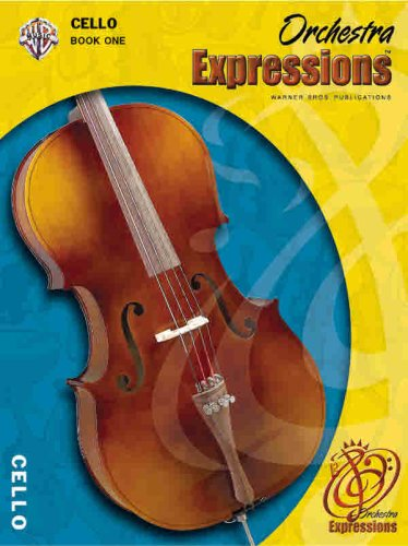 Orchestra Expressions, Book One Student Edition Cello, Book and CD  2004 edition cover