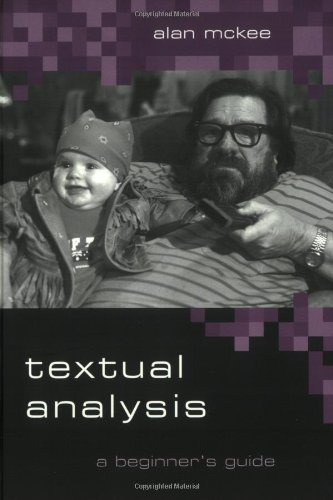 Textual Analysis A Beginner's Guide  2003 edition cover