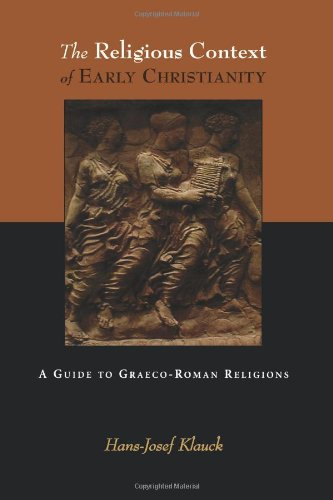 Religious Context of Early Christianity A Guide to Graeco-Roman Religions  2003 edition cover