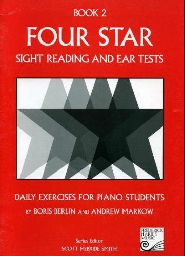 Four Star Sight Reading and Ear Tests N/A edition cover