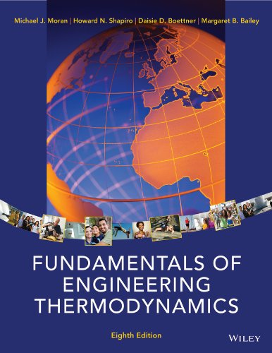 Fundamentals of Engineering Thermodynamics  8th 2014 9781118412930 Front Cover