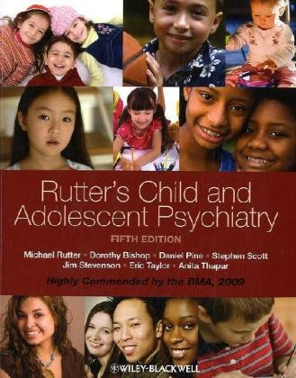 Rutter's Child and Adolescent Psychiatry  5th 2008 edition cover