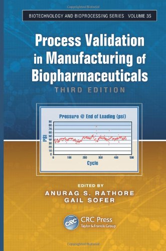 Process Validation in Manufacturing of Biopharmaceuticals  3rd 2012 (Revised) edition cover