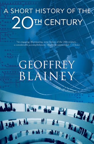 Short History of the Twentieth Century   2006 edition cover
