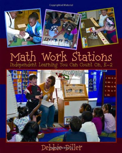 Math Work Stations Independent Learning You Can Count on, K-2  2011 edition cover