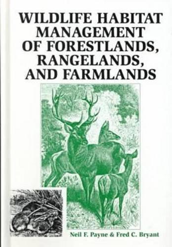 Wildlife Habitat Management of Forestlands, Rangelands, and Farmlands   1998 (Reprint) edition cover