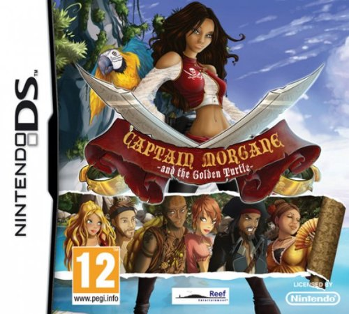 Reef Entertainment Captain Morgane And The Golden Turtle (Nintendo DS) Nintendo DS artwork