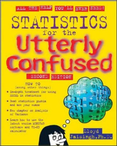 Statistics for the Utterly Confused  2nd 2006 (Revised) edition cover