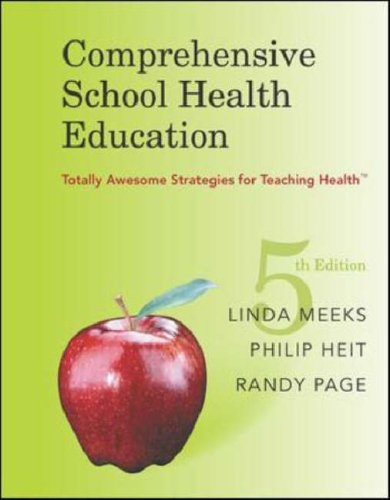 Comprehensive School Health Education  5th 2007 (Revised) edition cover