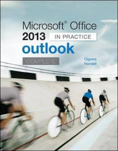 Microsoft Office Outlook 2013 Complete: In Practice  2014 edition cover