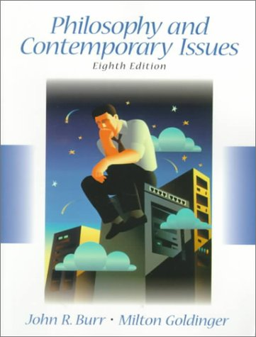 Philosophy and Contemporary Issues  8th 2000 edition cover