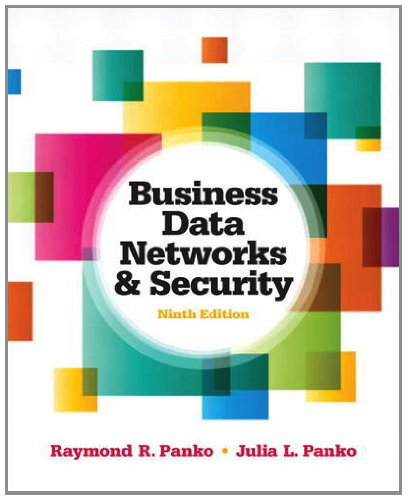 Business Data Networks and Security  9th 2013 (Revised) edition cover