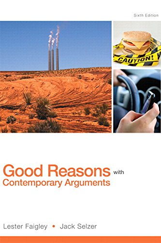 Good Reasons with Contemporary Arguments Plus MyWritingLab with Pearson EText -- Access Card Package  6th 2015 edition cover