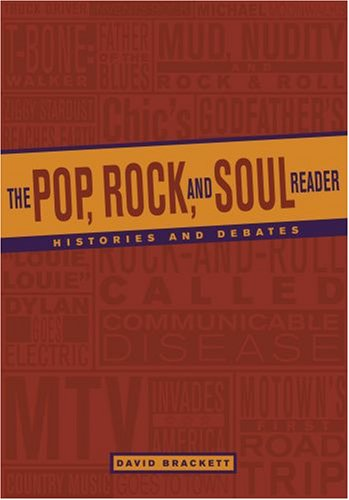 Pop, Rock, and Soul Reader Histories and Debates 2nd 2008 edition cover