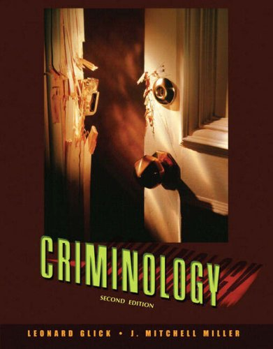 Criminology  2nd 2008 edition cover