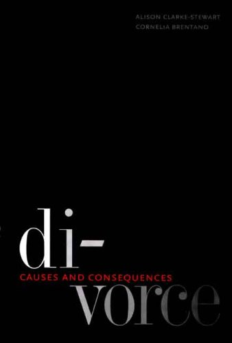 Divorce Causes and Consequences  2008 edition cover