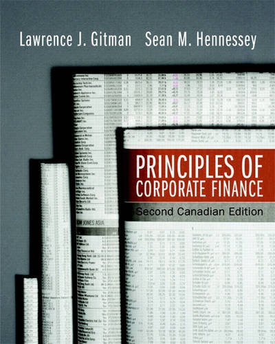 PRIN.OF CORPORATE FINANCE >CAN 2nd 2008 edition cover
