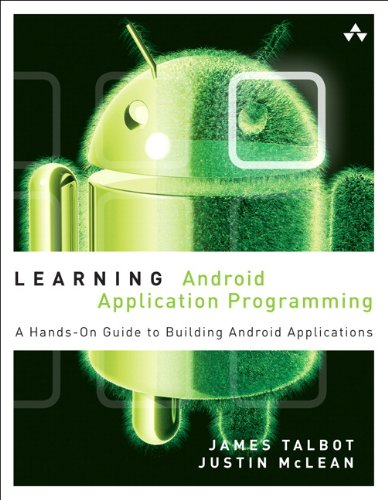 Learning Android Application Programming A Hands-On Guide to Building Android Applications  2014 edition cover