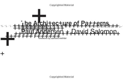 Architecture of Patterns   2010 edition cover