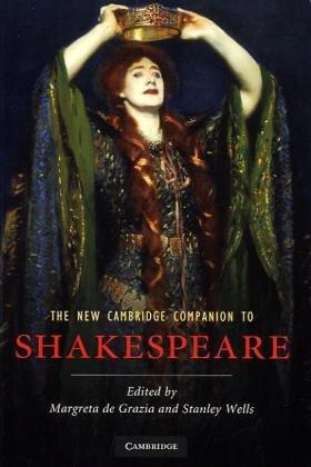 New Cambridge Companion to Shakespeare  2nd 2010 edition cover