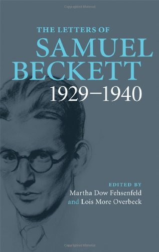 Letters of Samuel Beckett, 1929-1940   2009 9780521867931 Front Cover