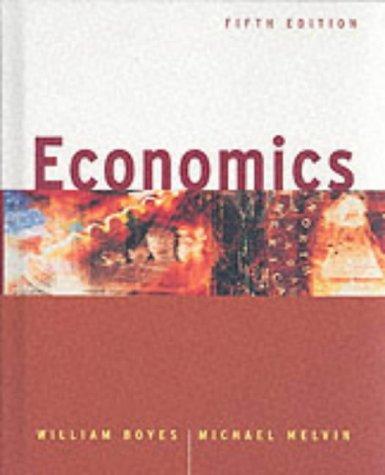 Economics  5th 2002 9780618127931 Front Cover