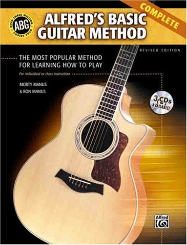 Alfred's Basic Guitar Method The Most Popular Method for Learning How to Play 3rd 2007 (Revised) edition cover