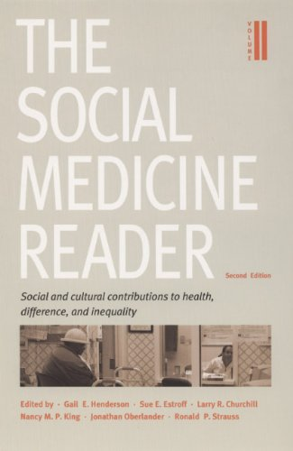 Social and Cultural Contributions to Health, Difference, and Inequality  2nd 2005 edition cover