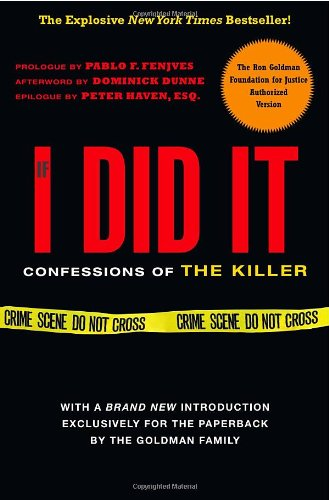If I Did It Confessions of the Killer  2008 edition cover