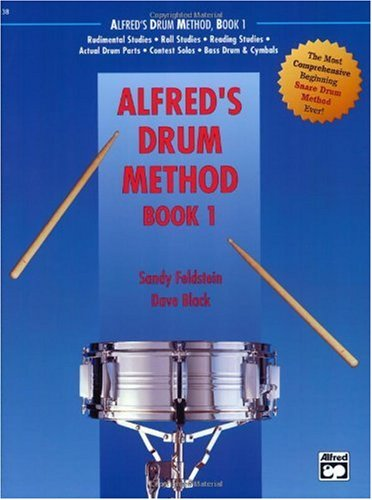 Alfred's Drum Method, Bk 1   1987 edition cover