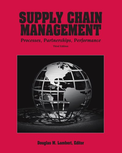 SUPPLY CHAIN MANAGEMENT N/A edition cover