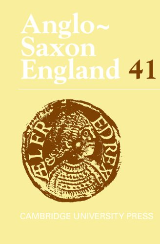 Anglo-Saxon England: Volume 41   2013 9781107046931 Front Cover