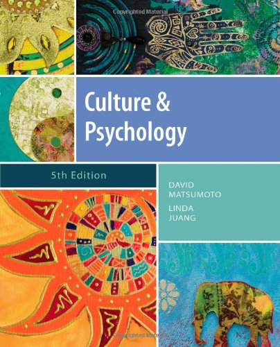 Culture and Psychology  5th 2013 9781111344931 Front Cover