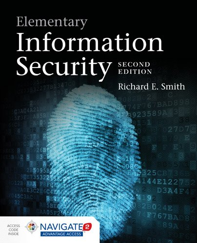 Elementary Information Security:   2015 edition cover