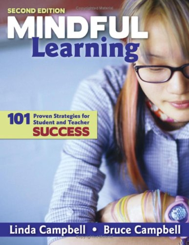 Mindful Learning 101 Proven Strategies for Student and Teacher Success 2nd 2009 edition cover
