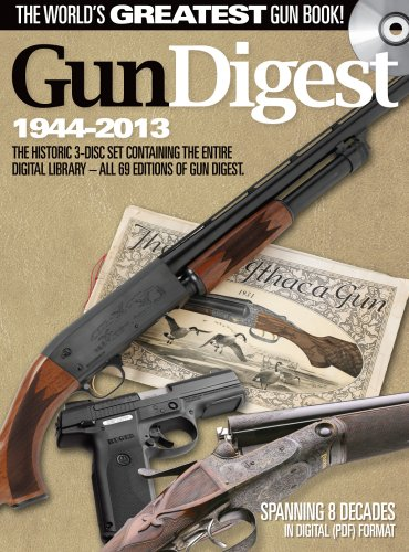 Gun Digest - The Complete Annual Archives (1944-2013): All 69 Annual Editions of Gun Digest on a 3-Disc Set - Complete Gun Values, Firearm Reviews, Collecting Tips & Buying Guides  2012 edition cover