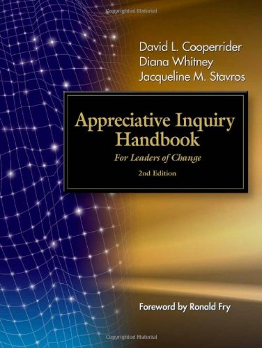 Appreciative Inquiry Handbook For Leaders of Change 2nd 2008 edition cover