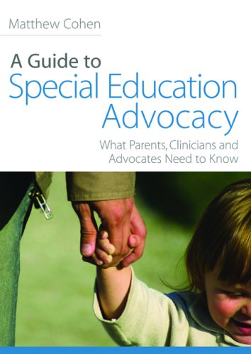 Guide to Special Education Advocacy What Parents, Clinicians and Advocates Need to Know  2009 edition cover