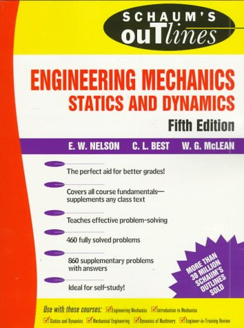 Engineering Mechanics Statics and Dynamics 5th 1998 (Revised) edition cover