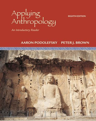 Applying Anthropology An Introductory Reader 8th 2007 (Revised) edition cover