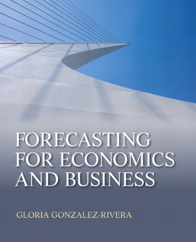 Forecasting for Economics and Business   2012 edition cover